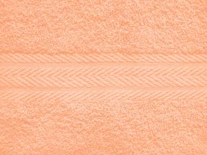 Обои персикового цвета в интерьере фото